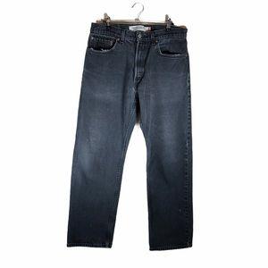 Levi's 505 Regular Fit Jeans Faded Black